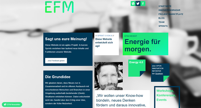 Screenshot EFM